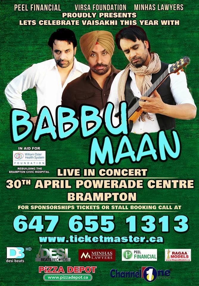 Live Concert – Babbu Maan